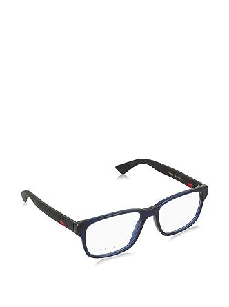b543867c83cf59 Gucci - Lunettes de soleil - Homme Bleu bleu noir  Amazon.fr ...