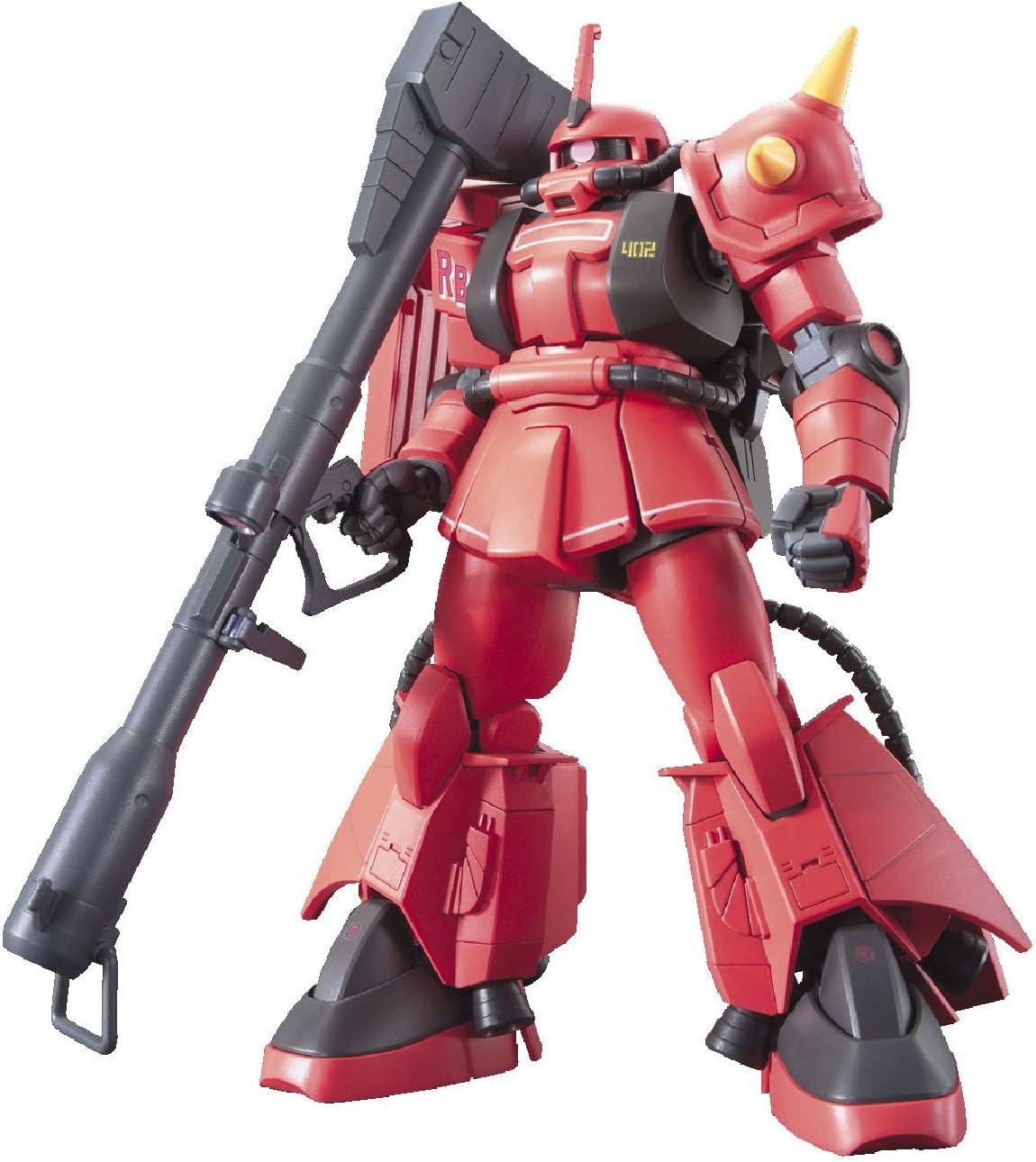 BANDAI HGUC 1//144 MS-06R-1A ZAKU II SHIN MATSUNAGA/'S CUSTOM Plastic Model Kit