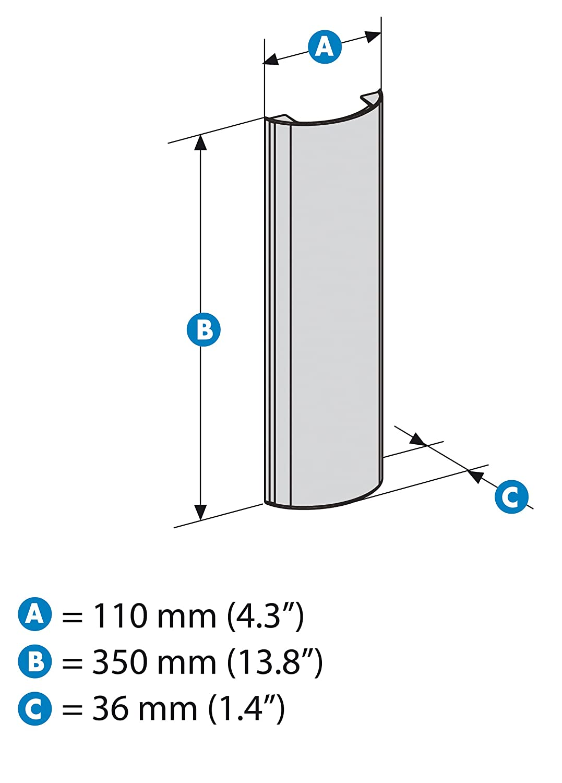 Meliconi stile line cover double copricavi per fili for Coprifili tv
