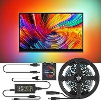 TV LED-achtergrondverlichting, DIY TV, PC Dream Screen TV Achtergrondverlichting RGB Strip Light, niet-waterdichte tv…