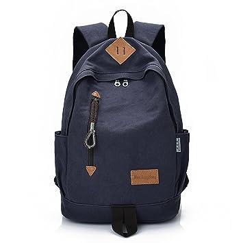 41059b7ca3fd4 Outreo Rucksack Freitag Backpack Schulrucksack Vintage Rucksäcke Herren  Laptoprucksack Weekender Tasche Daypack Outdoor Sporttasche Reiserucksack  für