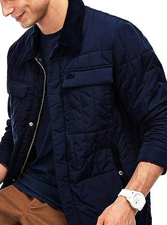 609115b79 Lacoste Men s Jacket - Green - XX-Large  Amazon.co.uk  Clothing