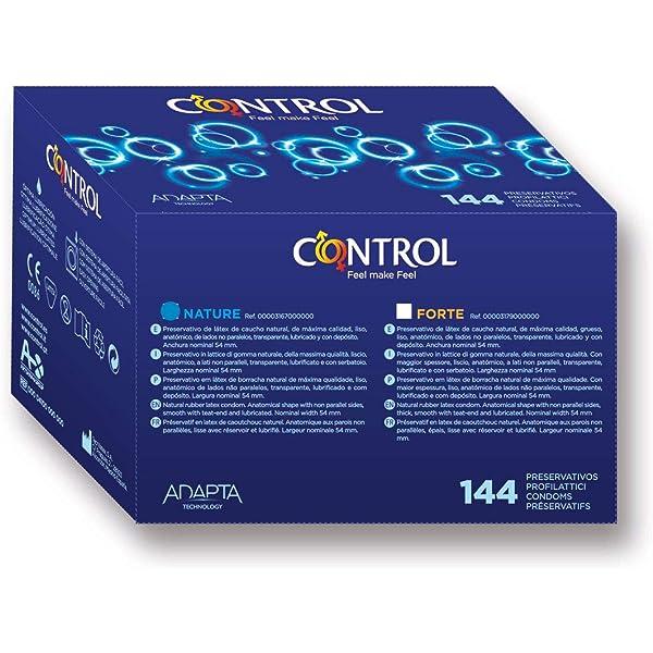 Control Preservativo Nature Caja - 144 preservativos [Modelo antiguo]: Amazon.es: Salud y cuidado personal