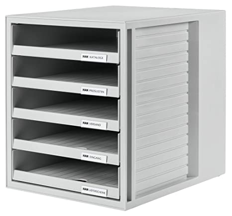 Amazon.com : Han 275 x 320 x 330mm C4 Size 5 Open Drawers ...