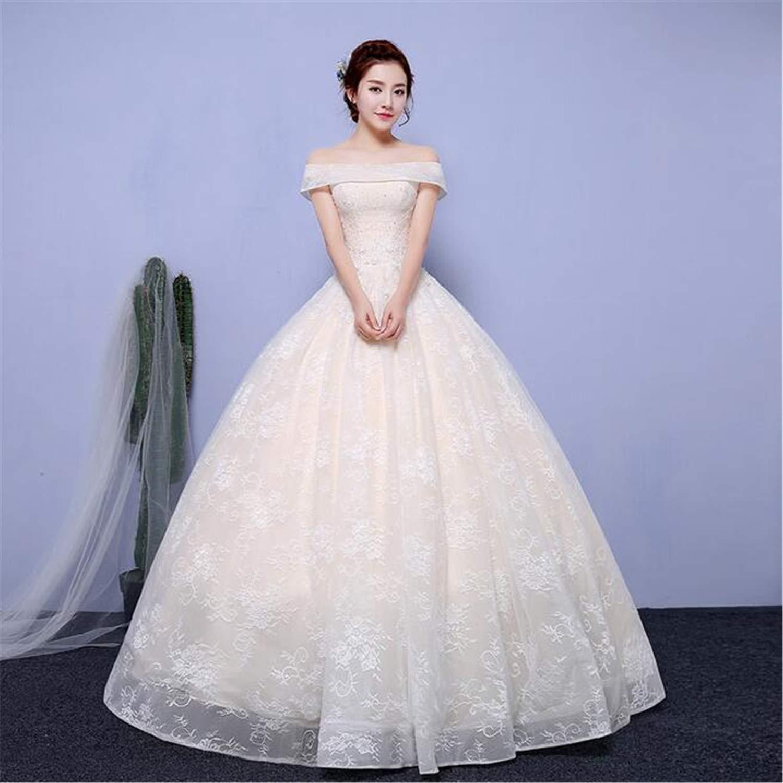 Wedding Dress for Bride Mesh Sexy Retro One Shoulder VNeck Long Section Trailing A Line Bride High Waist Slim Fit Princess