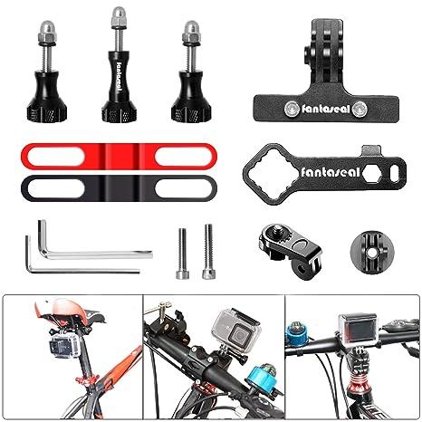Kit de montaje para cámara de acción 9 en 1, soporte para sillín ...