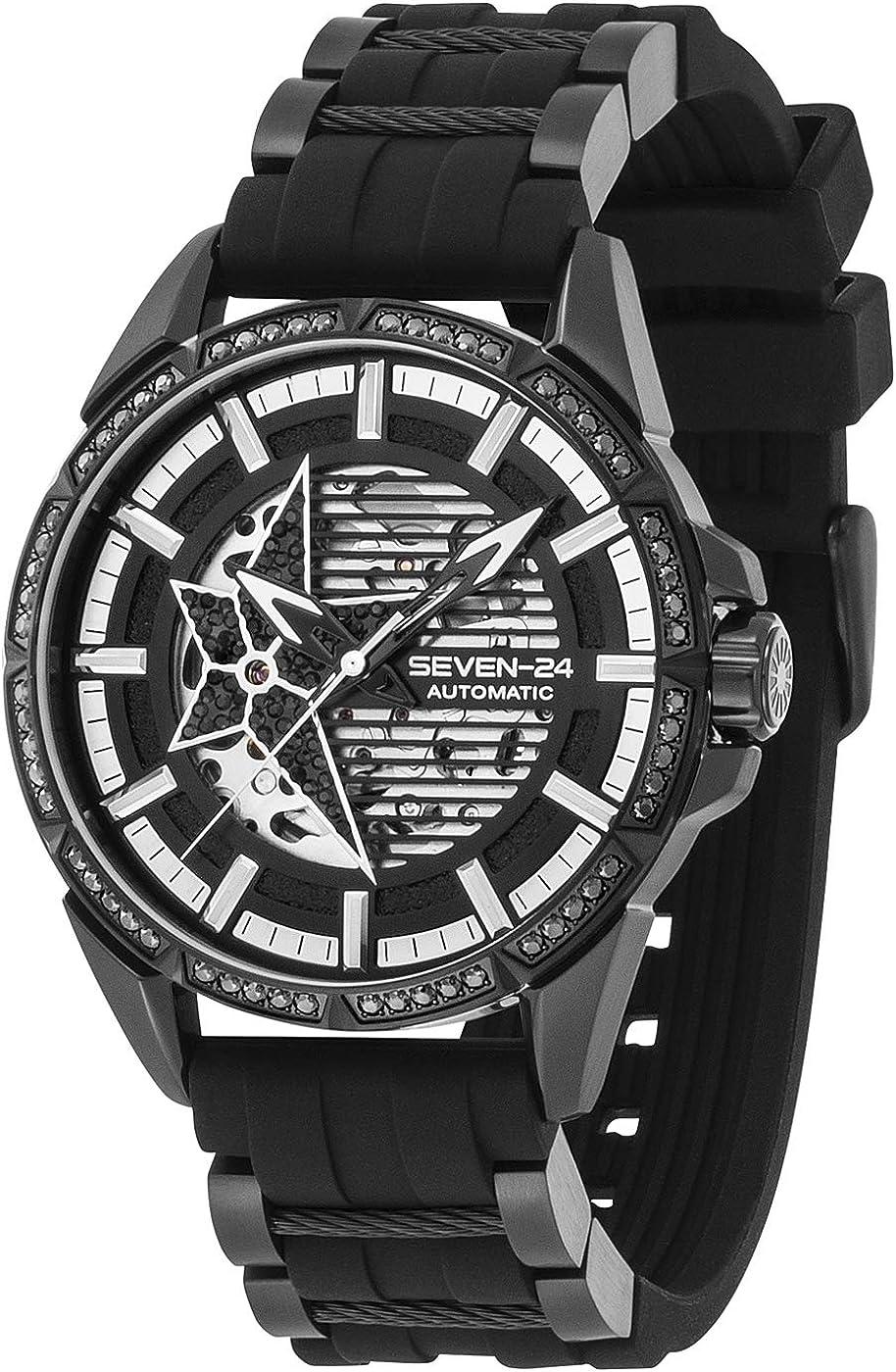 Seven-24 SV1259BSB-06ST Star - Reloj de pulsera automático para hombre
