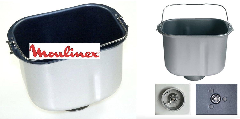 Moulinex OW300001/B70 - Cestello Pane Originale per Macchina del Pane (Home Bread) (Pala Cestello da ordinarsi separatamente, non inclusa) Moulinex*