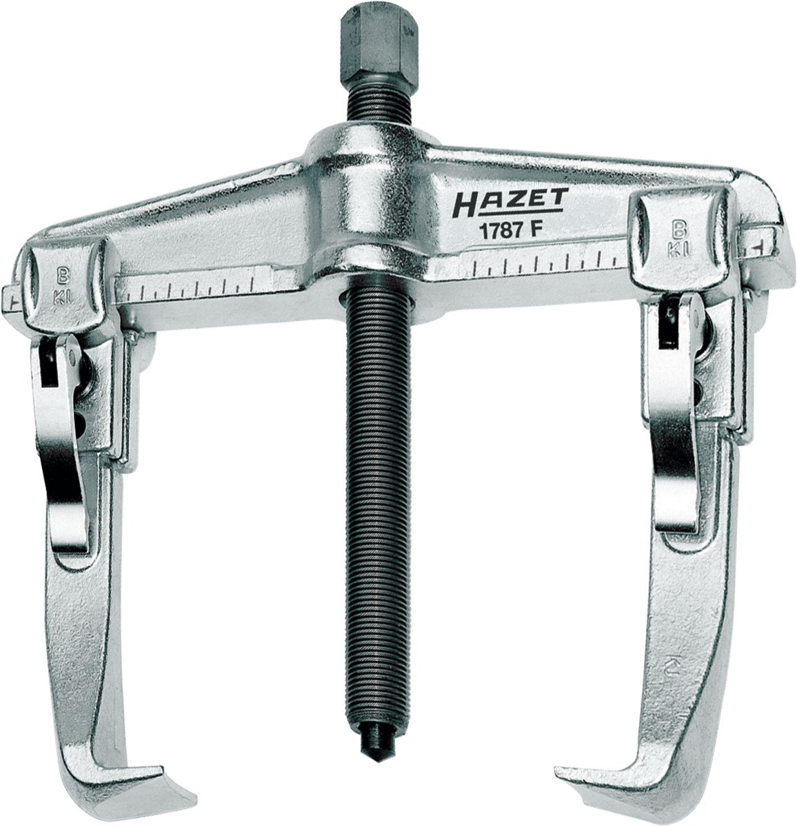 Hazet 1787F-35 Quick-clamping puller, 2-arm