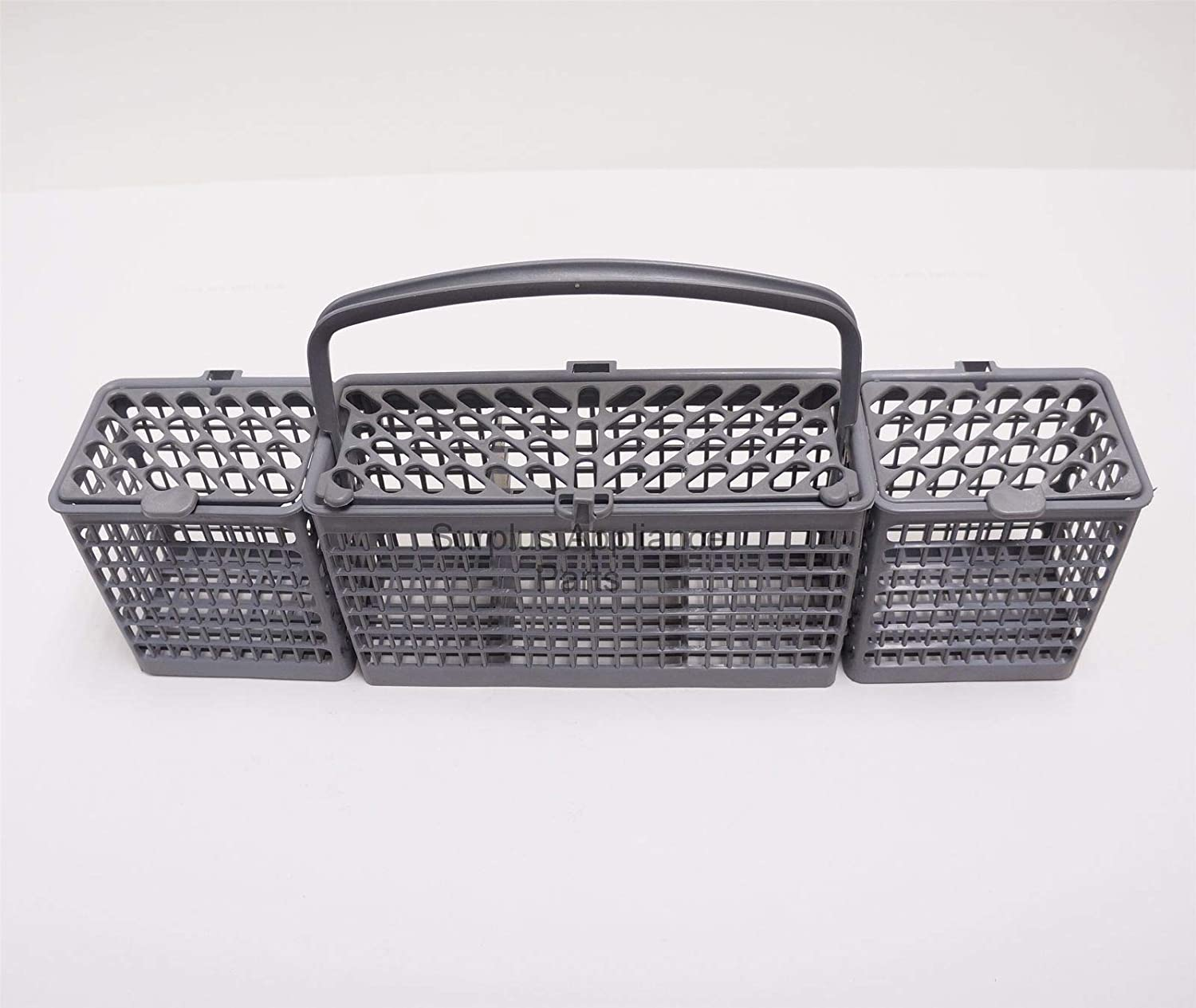 KHY Replacement Dishwasher Flatware Silverware Basket WD28X10182 FOR General Electric made Dishwashers including Hotpoint, RCA and some Kenmore.