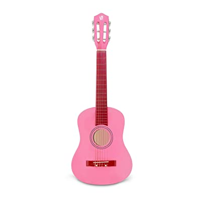 Concerto 30 Inch Pink Classical Guitar/ Girls Gift/ Kids Musical Toys, Musical Instrument: Musical Instruments