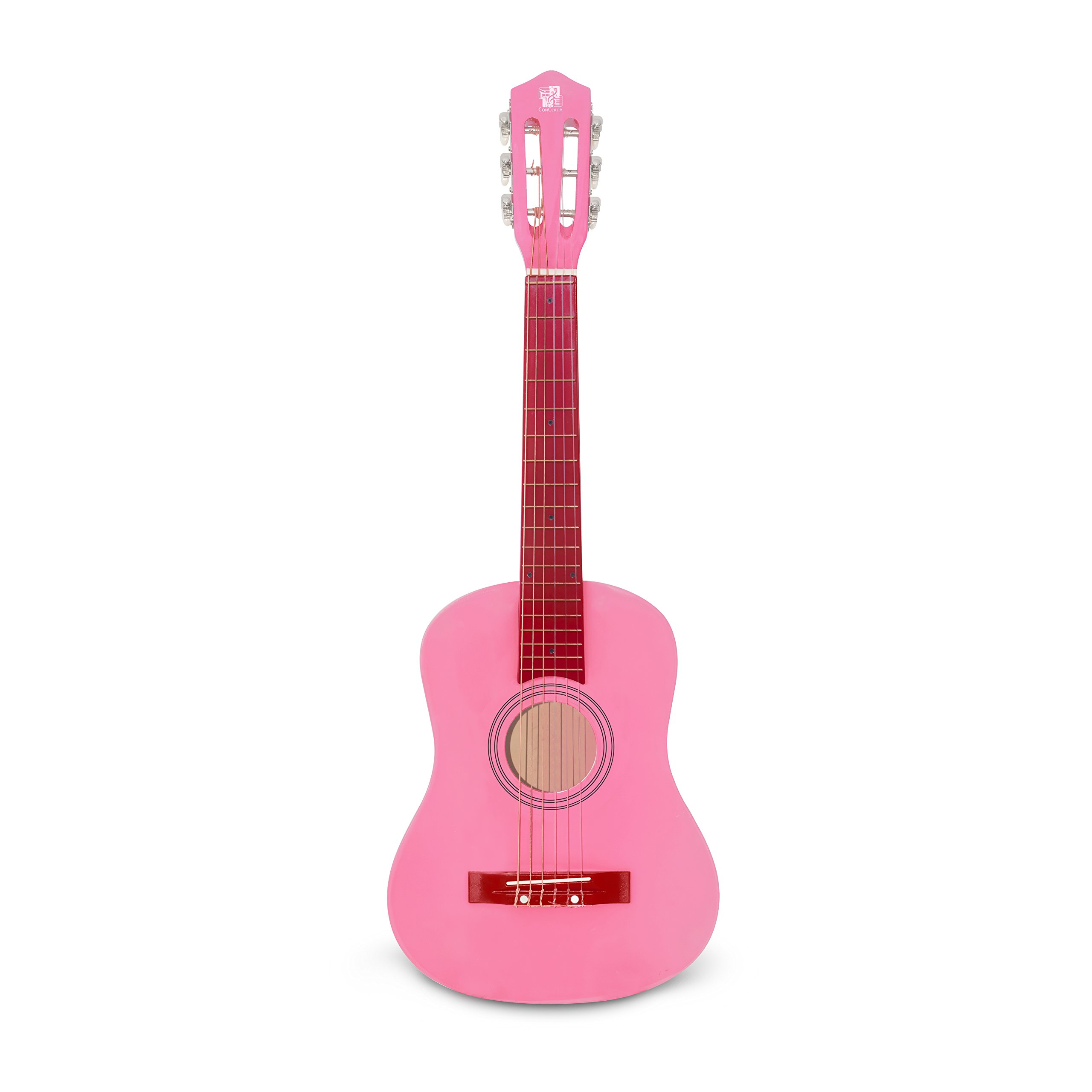 Concerto 30 Inch Pink Classical Guitar/ Girls gift/ Kids musical toys, musical instrument