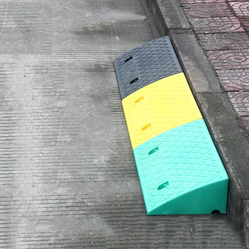 CHANG-dq Rampas de patinadores Rampas de servicio Rampas de rampa Rampas para veh/ículos Rampa al aire libre Rampa port/átil Estacionamiento Rampa Pl/ástica Pendiente Carretera dedicada