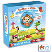 Comptines à Gestes (CD+DVD)