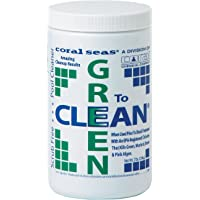 Coral Seas GTC-4# Green to Clean Swimming Pool Chlorine Shock Enhancing Treatment, 4 lb