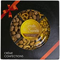 Holiday Gourmet Nut Tray, Gift Nuts Basket, Sympathy Trays, Assorted Nut Platter - Includes Toffee Peanuts, Sweet and…