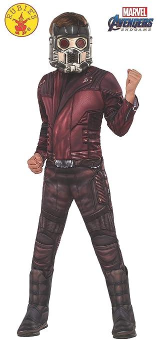 Amazon.com: Vengadores 4 Deluxe Star-Lord disfraz y máscara ...