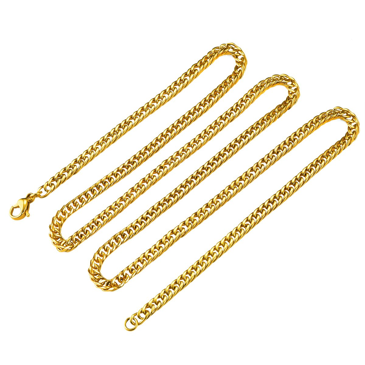 Smart Ladies Gold Silver Plated Solid Band Ankle Bracelet Anklets