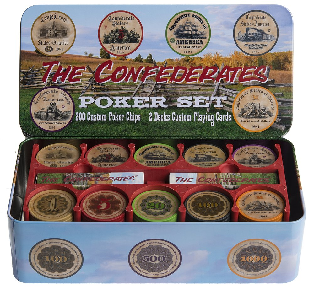 The Confederates - Confederate Currency Poker Set!