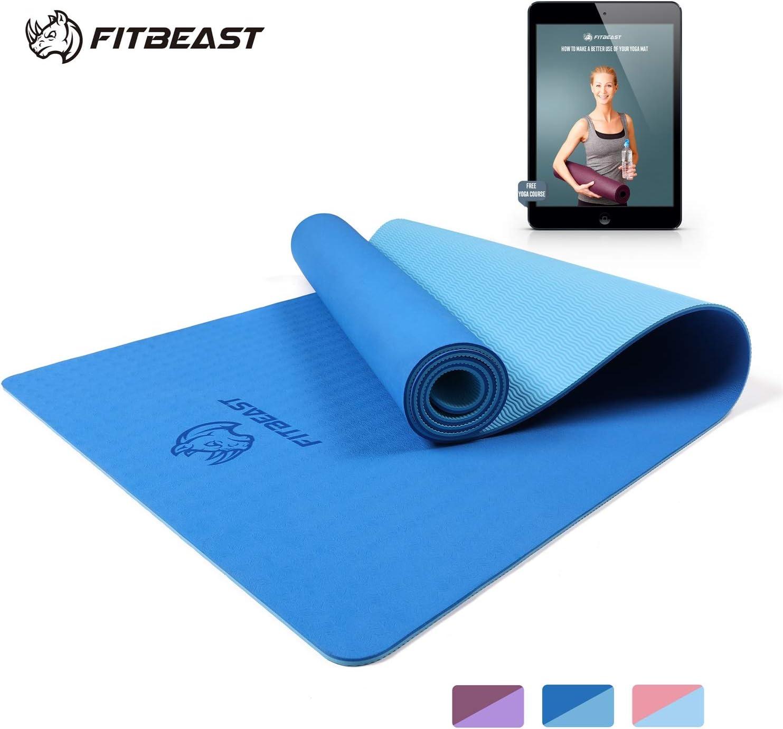 Portable Travel Waterproof Yoga Mat Tote Bag Sports Gym Fitness Travel Pilates