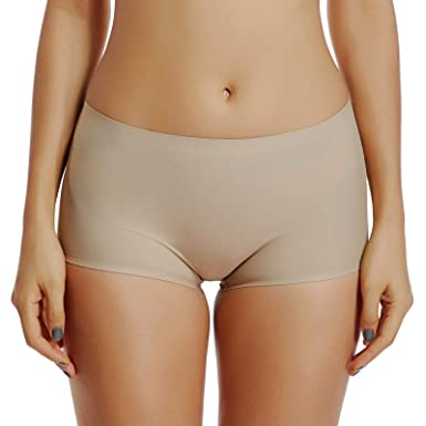 b2f9b849ac8 Joyshaper Seamless Under Skirt Shorts for Women Safety Pants Dance  Slipshorts Slimming Knickers Boxers Briefs Panties Booty Shorts Underwear  Boyshorts ...
