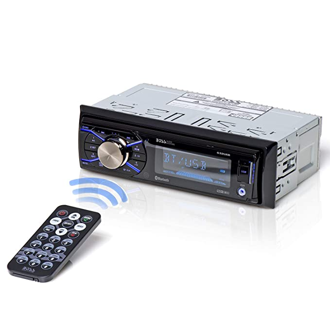 amazon com boss audio 632uab car stereo single din, bluetoothimage unavailable image not available for color boss audio 632uab car stereo single din