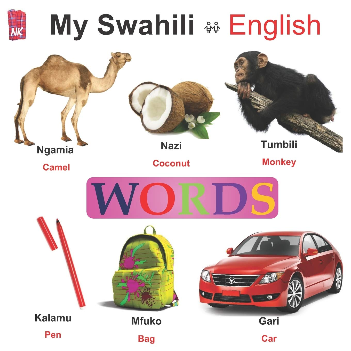 My Swahili - English WORDS