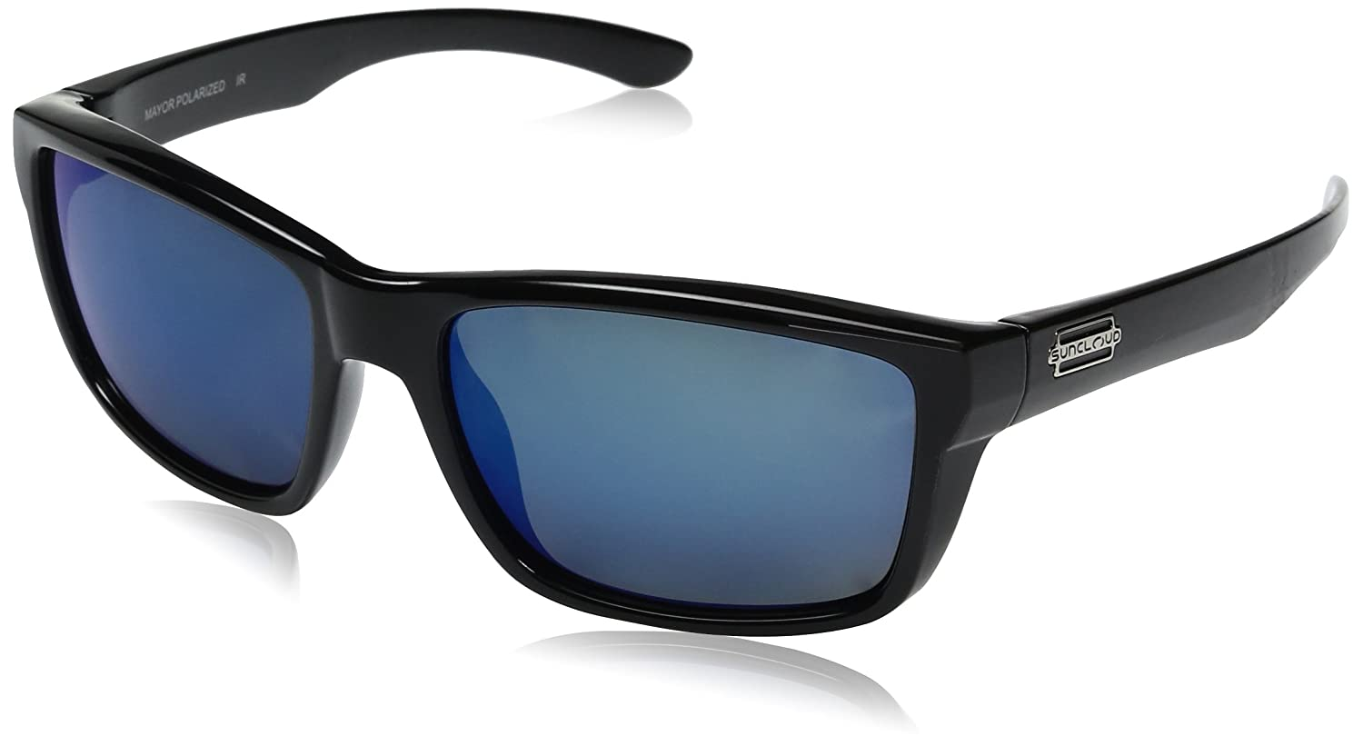 a9ae003d42a Amazon.com  Suncloud Mayor Polarized Sunglass with Polycarbonate Lens