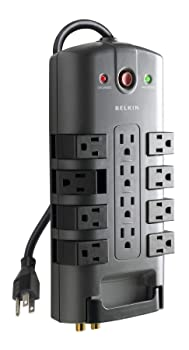 Belkin Pivot-Plug Surge Protector with 12 Outlet
