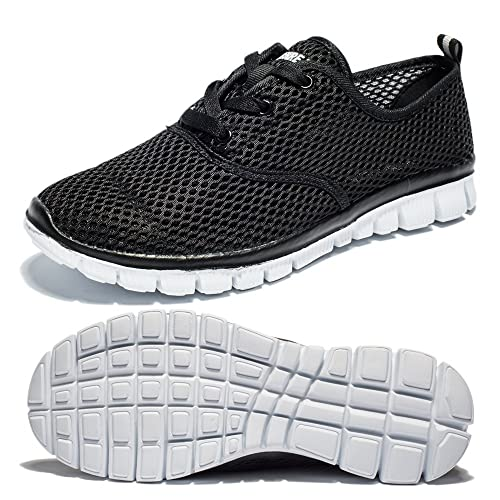 d4fae5e16b Saibhreas Men's Women's Running Shoes Lightweight Mesh Sneakers Breathable.  Casual (7US/40EU,