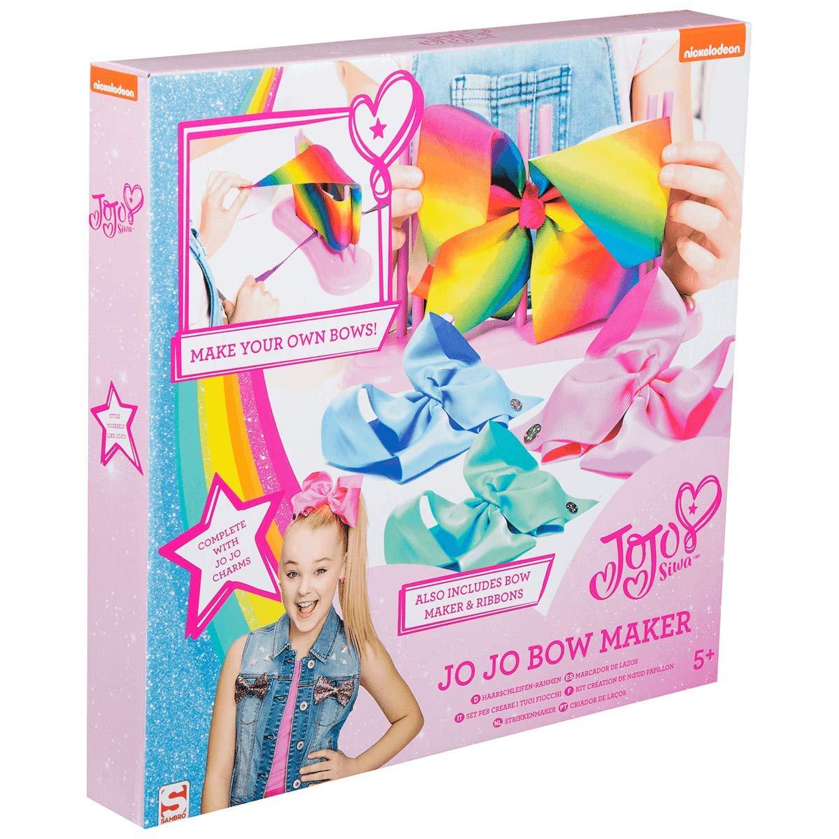 JoJo Siwa Nickelodeon Bow Maker – Haarschmuck-Set für 4 Zauberhafte ...
