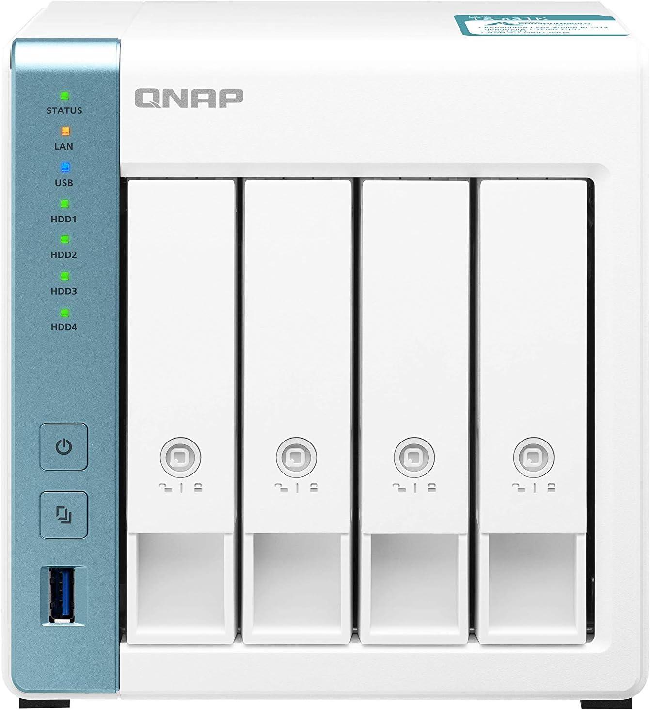 Qnap Ts 431k 4 Bay Desktop Netzwerkspeicher Gehäuse Computer Zubehör