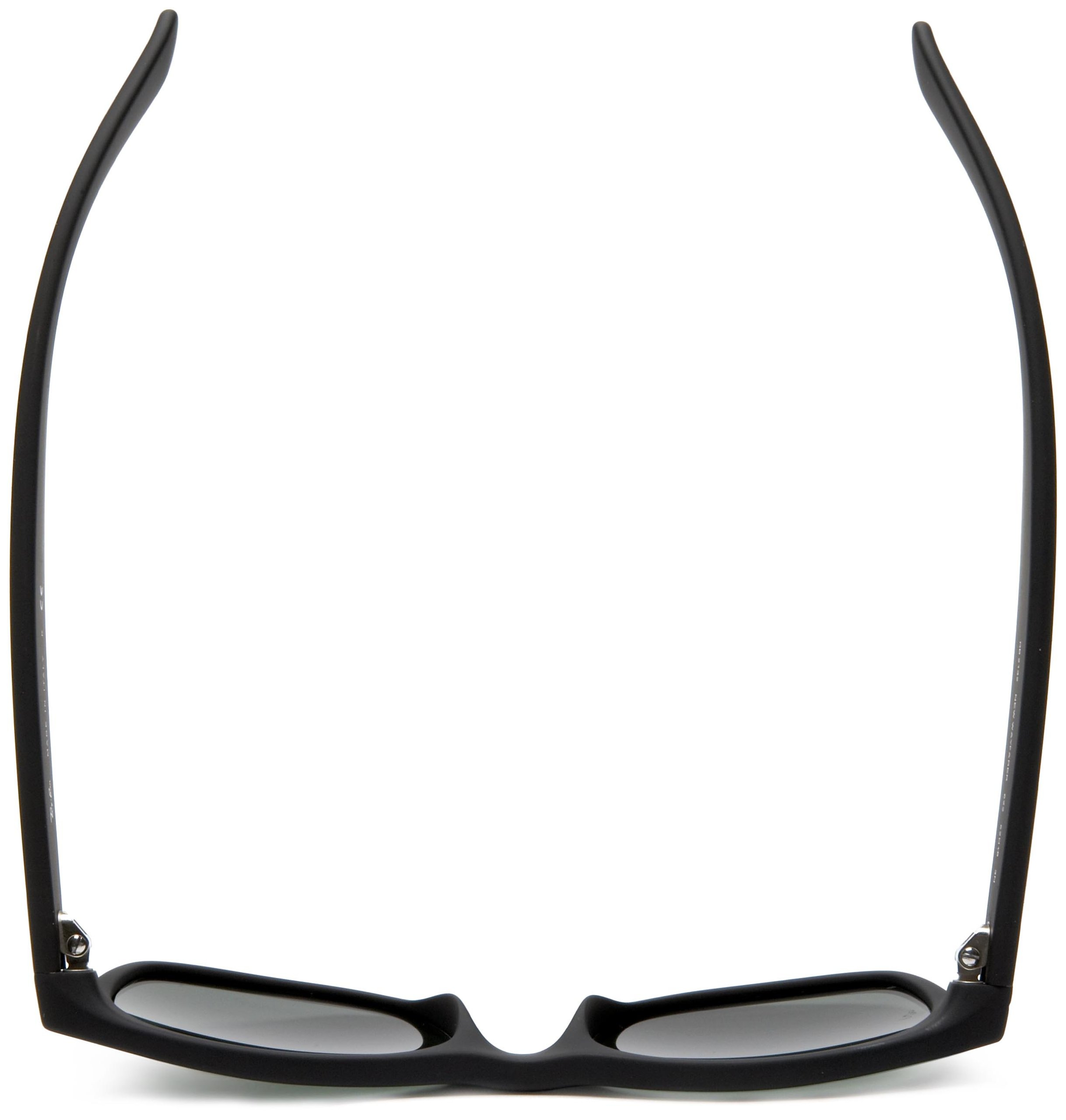 Ray-Ban, RB2132 Wayfarer Sunglasses, Unisex Ray-Ban Glasses, 100% UV Protection, Polarized Wayfarer, Reduce Eye Strain, Lightweight Plastic Frame, Prescription-Ready Lenses, 58 mm Frame by Ray-Ban (Image #5)