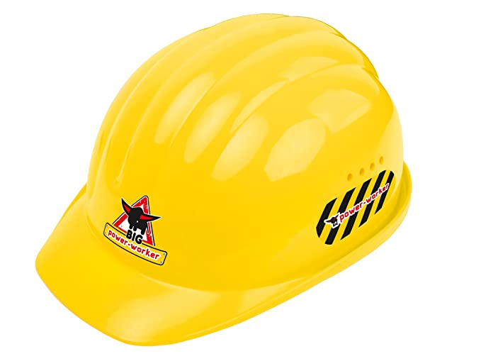 Big 800056901001 Power Worker Helmet Amazon De Spielzeug