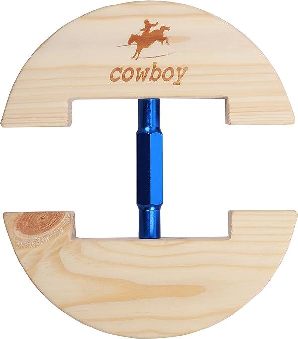 COWBOY Hat Stretcher,Large Size 7 1/2