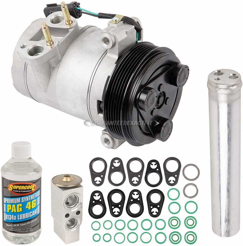 BuyAutoParts 60-81976RK New For Dodge Nitro 2007 2008 2009 2010 2011 AC Compressor w//A//C Repair Kit