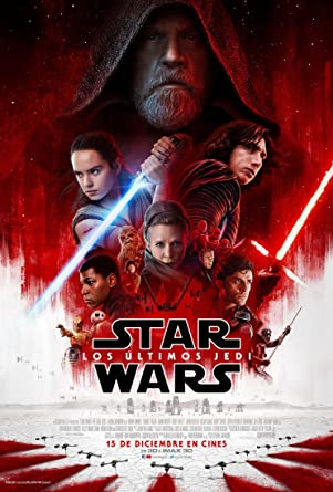 Star Wars: Los Ultimos Jedi 3D + 2D [Blu-ray]