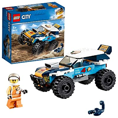 LEGO City Great Vehicles Desert Rally Racer Toy Car, Racing Construction Set for Kids: Toys & Games