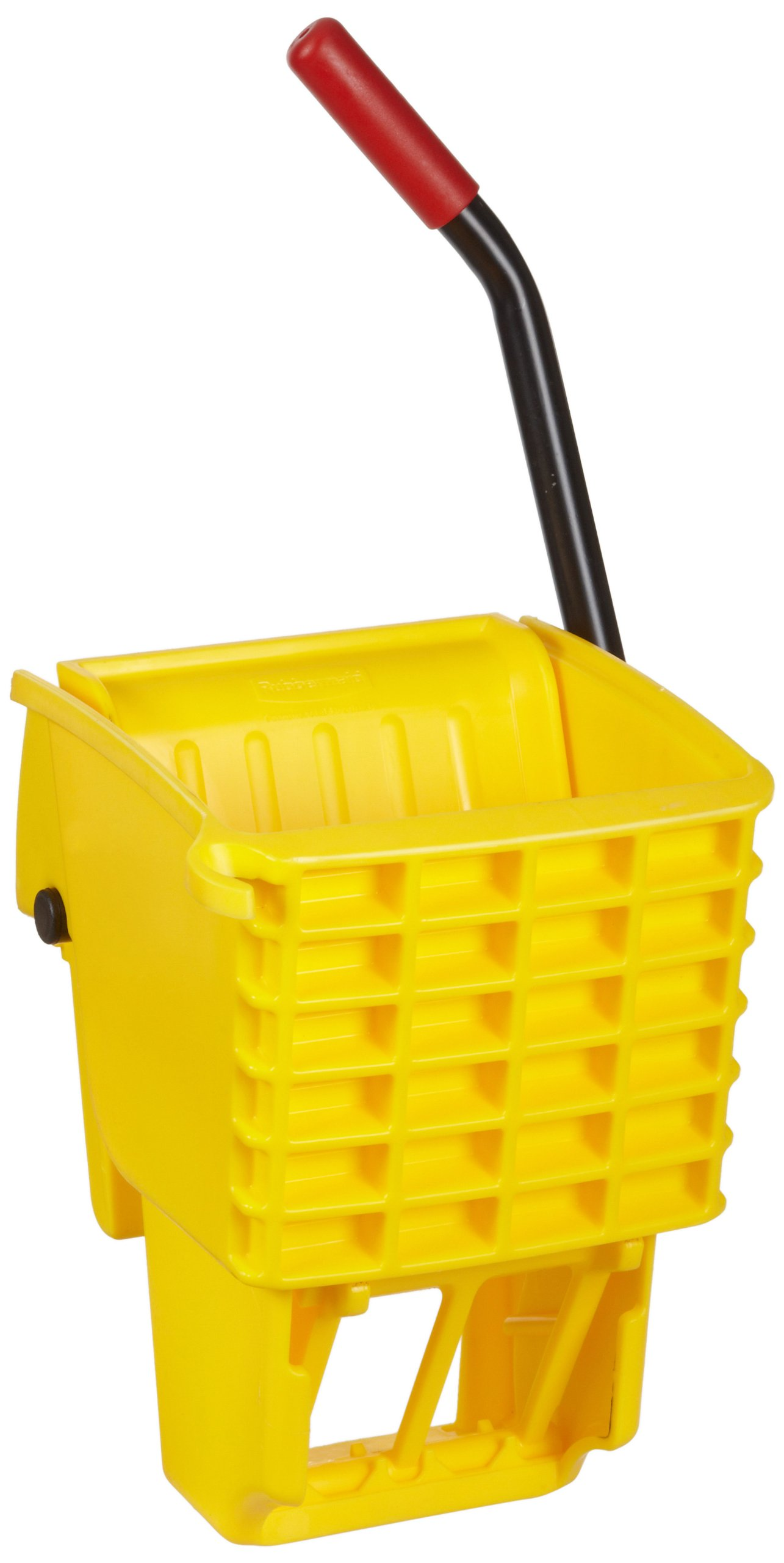 Rubbermaid Commercial FG612788YEL Side-Press Wringer for 13- to 32-ounceWaveBrake Mop Buckets, Yellow