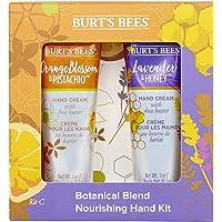 Burt's Bees Botanical Blend Nourishing Handset, 2-delig, 1 handcrème lavendel en honing 28,3 g, 1 oranjebloesem en…