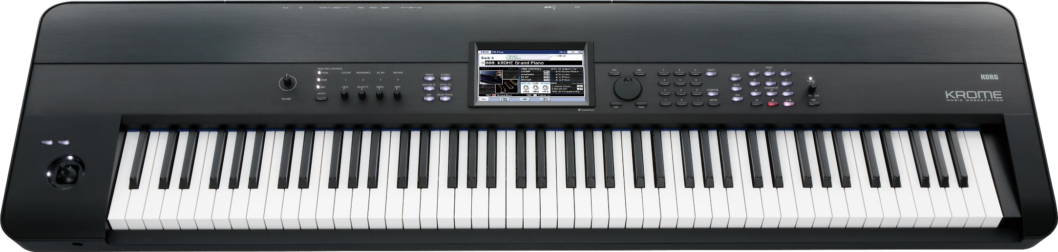 2. Korg KROME 88-Key Music Workstation Keyboard & Synthesizer