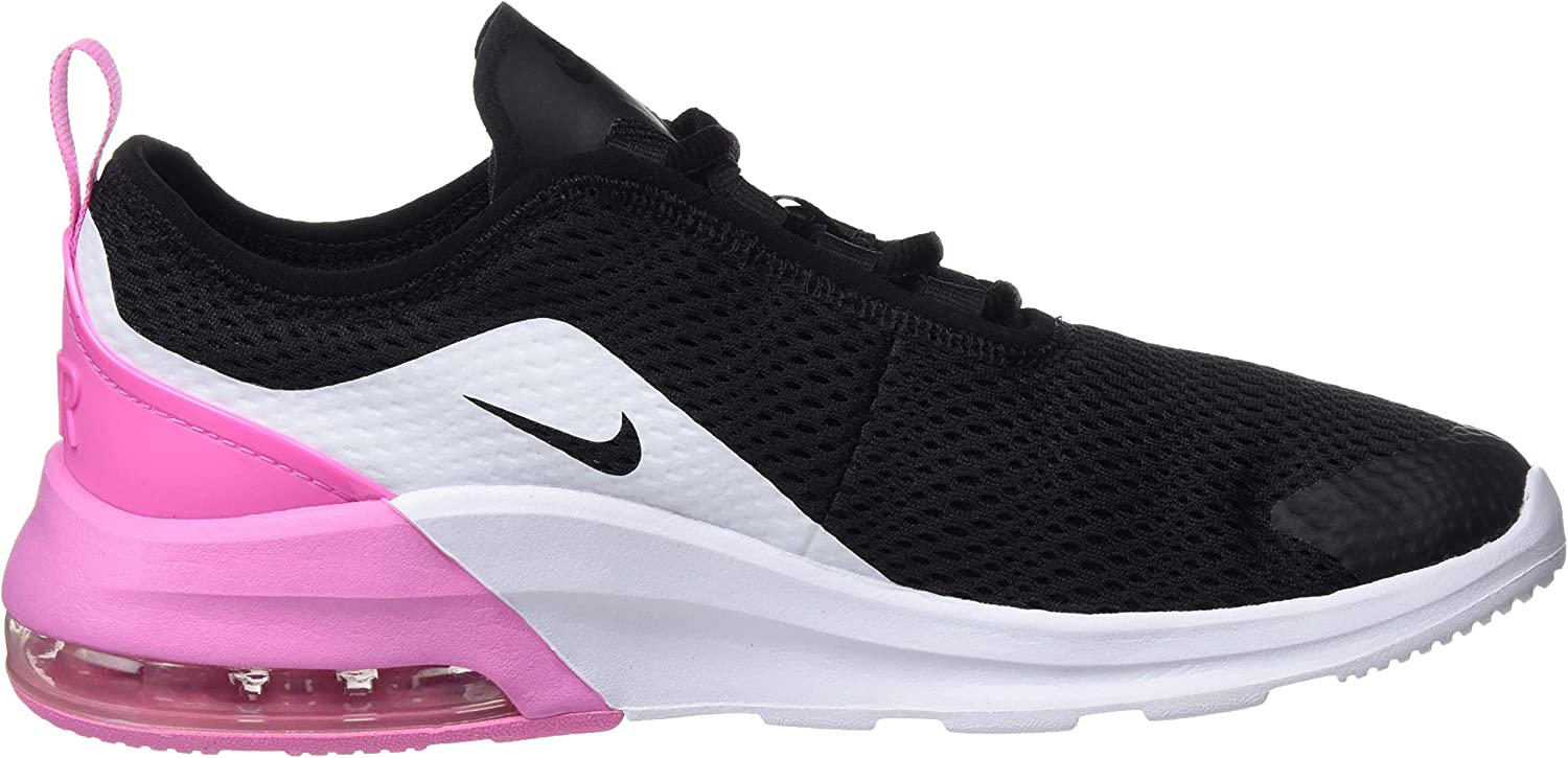 Nike Air Max Motion 2 GS Kids Casual Shoes Black//Silver-Pink//US 6.0Y AQ2745-001