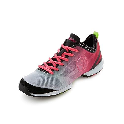 Zumba Footwear Zumba Flex II - Zapatillas Deportivas de Material sintético Mujer, Color Rosa, Talla 35.5: Amazon.es: Zapatos y complementos