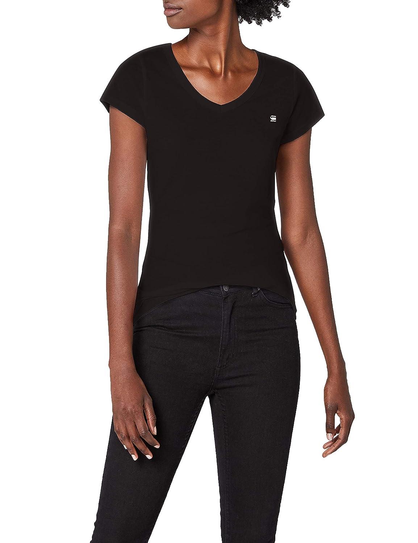 TALLA 34 (Talla del fabricante: X-Small). G Star Eyben Slim V T Wmn S/S, Camiseta Para Mujer