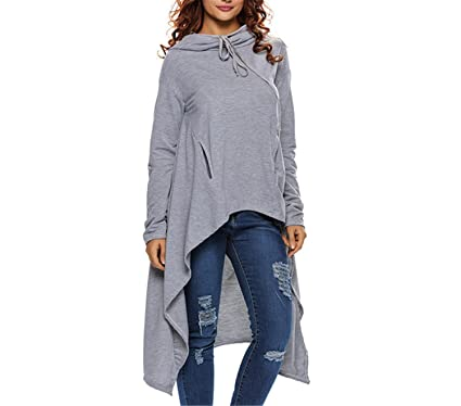 Coumll Long Moleton Feminino Hoodie Trainingspak Sudaderas Mujer Sweatshirt at Amazon Womens Clothing store:
