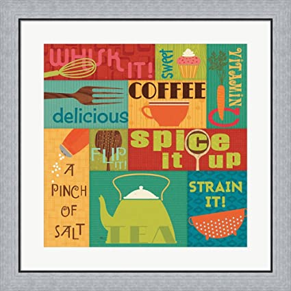 Ordinaire Great Art Now Kitchen It! I By Pela Studio Framed Art Print Wall Picture,