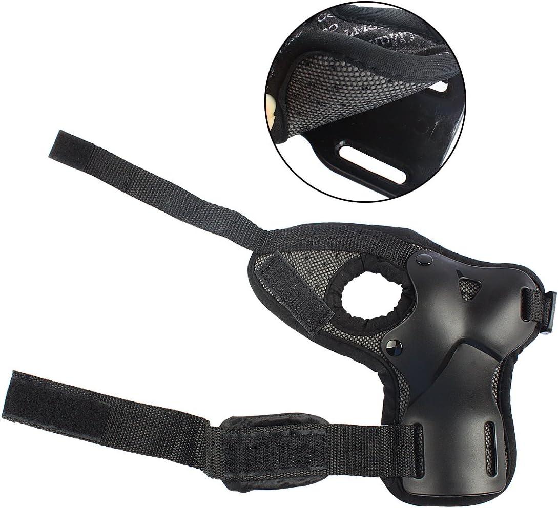 Kelis Adjustable Skateboard Gauntlets Support Ski Gloves Extended Wrist Palms Protection