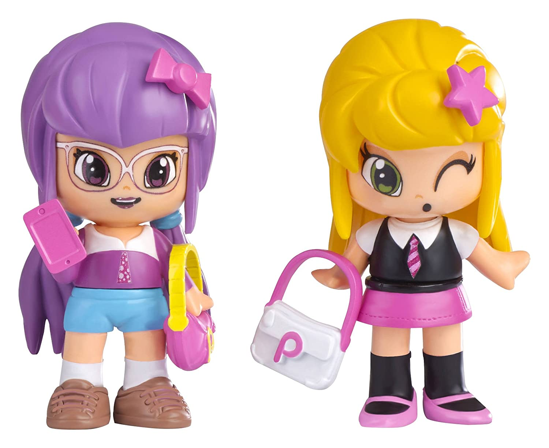 Pinypon - Compañeras de Clase, Julia & Lilith, Set de 2 muñecas (Famosa 700012915): Amazon.es: Juguetes y juegos