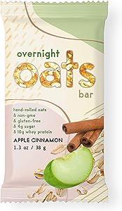 Overnight Oats Bar Apple Cinnamon, 11.7 Ounces, 9 Count
