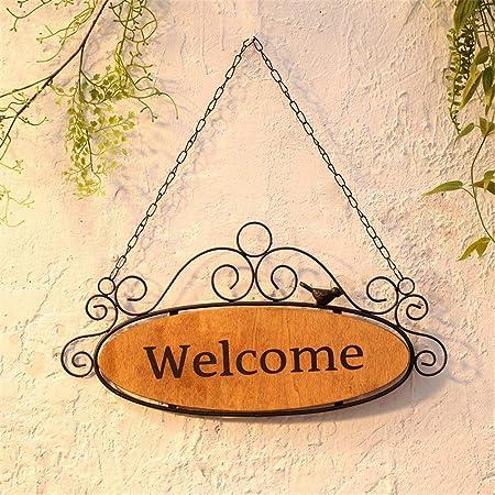 Cartel de bienvenida Letreros de puerta de bienvenida de ...